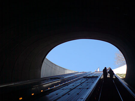 Going Up ... to Washington DC