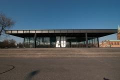 Neue Nationalgalerie - eben geschlossen!