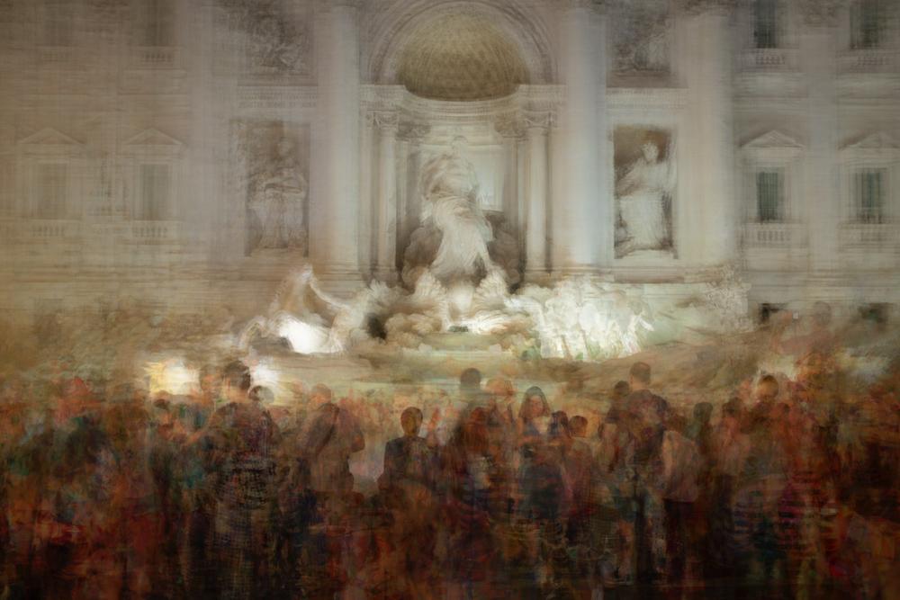 Trevi Brunnen Rom Lonicer